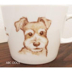 マグカップ(ABC-DOGS-tensh) シュナウザー abcdogs 02