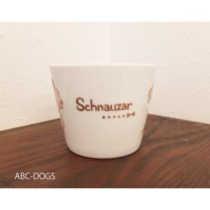 マグカップ(ABC-DOGS-tensh) シュナウザー abcdogs 03