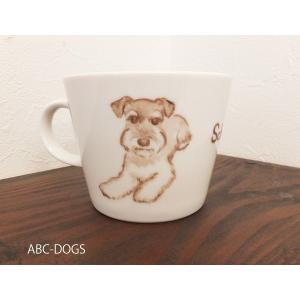 マグカップ(ABC-DOGS-tensh) シュナウザー abcdogs 04
