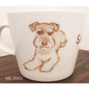 マグカップ(ABC-DOGS-tensh) シュナウザー abcdogs 05
