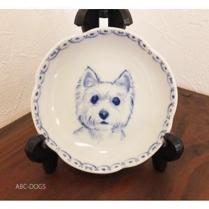 梅小皿(ABC-DOGS-tensh) ウェスティ abcdogs
