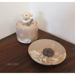 小さな祭壇セット(べるく工房) クリームわんこ|abcdogs