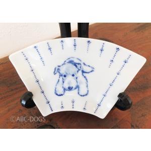 扇小皿(ABC-DOGS-tensh) ワイアーフォックステリア abcdogs