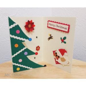 クリスマスボックス(ユングフラウの月) パグのフォン/緑|abcdogs