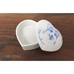 ハート小物入れM(ABC-DOGS-tensh) コーギー|abcdogs