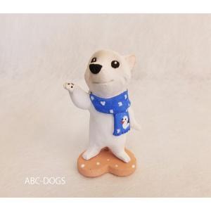 雪(カワセミ工房) 白柴 abcdogs