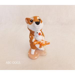 雪(カワセミ工房) 赤柴 abcdogs