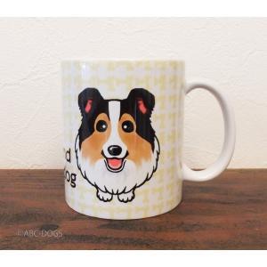 おねだりわんこマグカップ シェルティ(セーブル)|abcdogs
