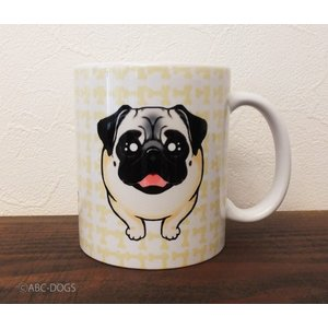 おねだりわんこマグカップ パグ|abcdogs