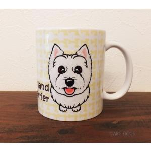 おねだりわんこマグカップ ウェスティ|abcdogs