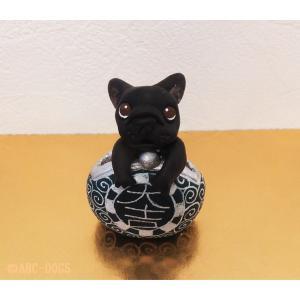 福財布(カワセミ工房) フレンチブル黒 abcdogs