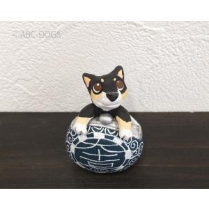 福財布(カワセミ工房) 黒柴 abcdogs