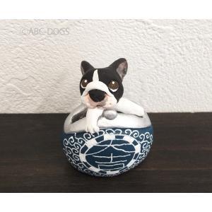 福財布(カワセミ工房) フレンチブル abcdogs