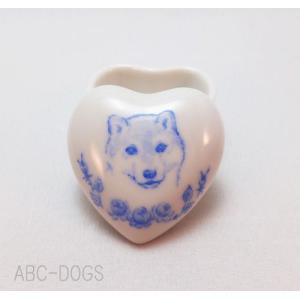 ハート小物入れS(ABC-DOGS-tensh) 柴|abcdogs