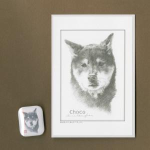 バッジ&ポストカード(はなふさ あんに) NO,90|abcdogs