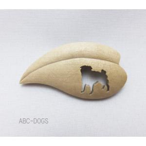 ブローチ(KIAYUMI) パグ|abcdogs