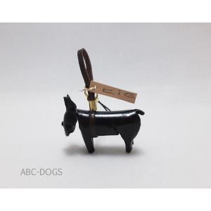 革ストラップ(K・I・G) フレンチブル ブリンドル abcdogs