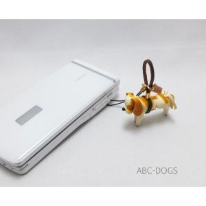 革ストラップ(K・I・G) キャバリア[わんこ雑貨ABC-DOGS]