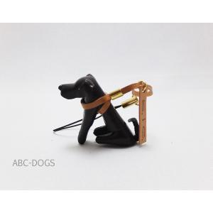 革ストラップ(K・I・G) レトリバー チョコ abcdogs