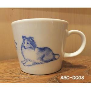 マグカップ(ABC-DOGS-tensh) シェルティ|abcdogs