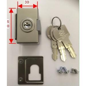 部品コード:AZRZ001 商品名: 外締り錠II 適用商品:アトモスII,デュオSG、CX、太陽、...