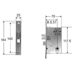 部品名 : 錠ケース サムラッチハンドル用 商品コード : AZWB752 色 : 素材色 内容物 ...