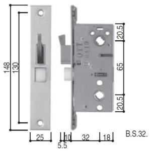 HH3K19014 YKK 玄関ドア 主錠ケース 美和ロック フロント刻印:LZ|abcshop-yh-ten