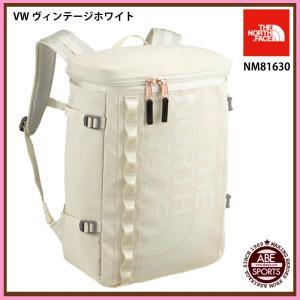 【THE NORTH FACE】 BC Fuse Box BCフューズボックス/かばん/ノースフェイス/バッグ/バッグパック/リュック (NM81630) VW ヴィンテージホワイト