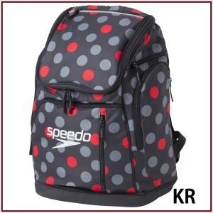 c2c97fa3007 【スピード】 スイマーズリュック スポーツバッグ/バックパック/リュック/水泳 バッグ スピード (SD97B51) KR ブラック×レッド