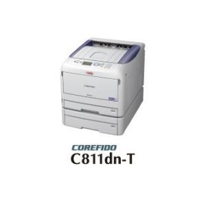 OKI ビジネスカラープリンタ A3 COREFIDO2 トレイセットモデル C811dn-T 【代引不可】|abewebshop