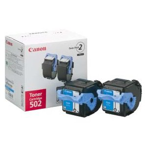 Canon キヤノン 純正トナー Satera キヤノン トナーカートリッジ 502 2P C (シアン)|abewebshop
