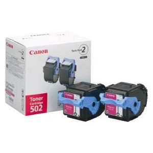 Canon キヤノン 純正トナー Satera キヤノン トナーカートリッジ 502 2P M (マゼンタ)|abewebshop