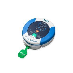 オムロン AED 自動体外式除細動器 レスキューハート HDF-3500 安心パック付本体セット|abewebshop