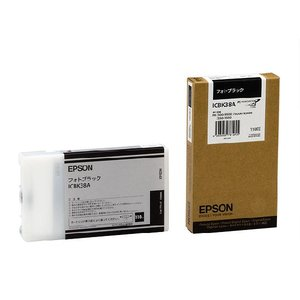 EPSON エプソン 純正インクカートリッジ PX-9550/PX-7550 <ICBK38A> 110ml abewebshop