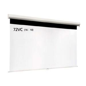 IZUMI スプリングロール式マグネットスクリーン 72インチ IS-WOL72VC 【代引不可】 abewebshop