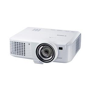 Canon キヤノン 3100lm リアルWXGA プロジェクター 短焦点モデル LV-WX310ST|abewebshop