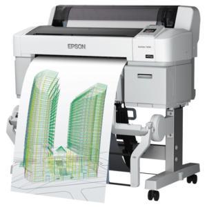 EPSON エプソン A1プラス 4色 SureColor SC-T3250 キャンペーン <SC-T3CRC7> スタンド・ロール紙付|abewebshop