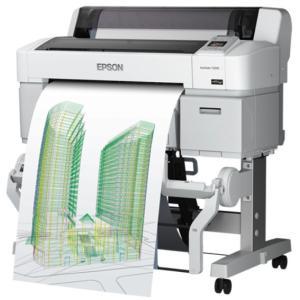 EPSON エプソン A1プラス SureColor SC-T3250 キャンペーン <SC-T3PRC7> スタンド・マット紙ロール付|abewebshop