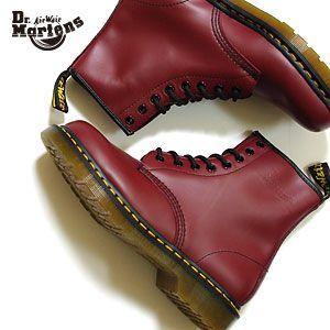 ドクターマーチン Dr.Martens ブーツ 8ホール ブーツ 1460 メンズ レディース (チェリーレッド)(8 HOOL BOOT)(120622|abich