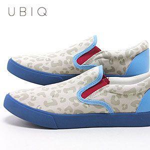 ユービック UBIQ エヴァンゲリオン ユービック SLPON メンズ レディース 413034-314 (ホワイト+ブルー)(EVANGELION UBIQ SLPON)(130613)|abich