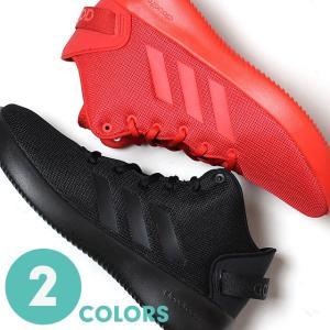アディダス メンズ スニーカー クラウドフォーム REFRESH MID 全2色 (adidas CLOUDFOAM)(170912)|abich