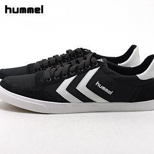 ヒュンメル(Hummel) スタディール LOW キャンバス・ブラック+ホワイト(STADIL LOW CANVAS)【メンズ】【レディース】【NA110225】【HUMMEL-2011Q1】|abich