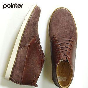 ポインター POINTER CYRIL ブーツ  メンズ (チェスナット)(131001)【SALE】 abich