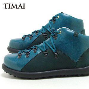 ティマイ TIMAI メンズ ブーツ チョガイ CHOGUY tihud002 03 (ネイビー)(120910)|abich