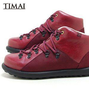 ティマイ TIMAI メンズ ブーツ チョガイ CHOGUY tihud002 04 (バーガンディ)(120910)|abich