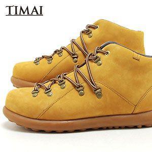 ティマイ TIMAI メンズ ブーツ チョガイ CHOGUY tihud002 05 (ウィート)(121122)|abich