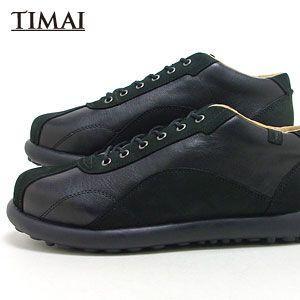 ティマイ TIMAI メンズ ブーツ カンショウ KANSHO tihud005-01 (ブラック)(130311)|abich