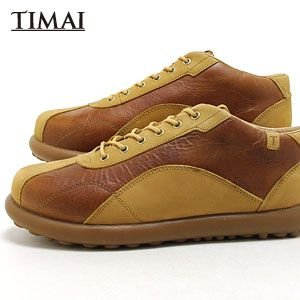 ティマイ TIMAI メンズ ブーツ カンショウ KANSHO tihud005-03 (ライトブラウン)(130311)|abich