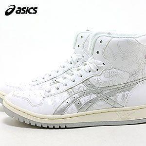 アシックス(asics) プロコートブーツ・ホワイト+シルバー(PROCOURT BOOTS)【メンズ】【レディース】【スニーカー】【NA101206】|abich