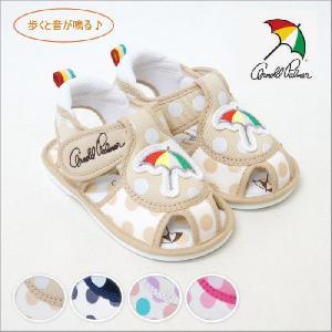 アーノルドパーマー 靴 ベビー シューズ サンダル 笛付き ap4108|ablya